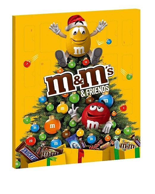 Il Calendario Di Natale Streaming.M M S Friends Calendario Dell Avvento Assortimento Misto Pacco Da 1 Pezzi X