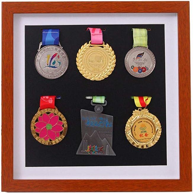 Gabinete de exhibición de medalla militar grande directo, caja de almacenamiento de medalla militar, letrero de insignia, caja de exhibición de medalla, marco de medalla, exhibición de medalla: Amazon.es: Deportes y aire