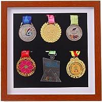 JX Factory directe grote militaire medaille vitrine, militaire medaille opbergdoos, badge teken, medaille vitrine…