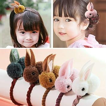 Cute baby hair bands  ropes hair elastics ponytail