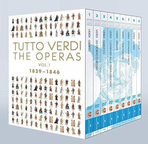 Tutto Verdi Operas, Vol. 1 (1839 - 1846) [Blu-ray] by C Major Entertainment