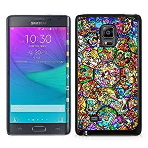 Samsung Galaxy Note Edge Case ,Fashion And Unique Designed Samsung Galaxy Note Edge Case With All character disney Black Hight Quality Cover