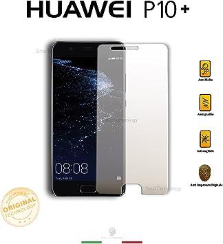 1neiSmartech Protector Cristal Templado Transparente Huawei P10 ...
