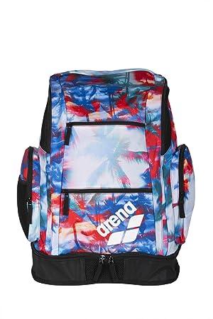 Arena Spiky 2 Impreso Grande Mochila, Unisex, Palms Red/Blue ...