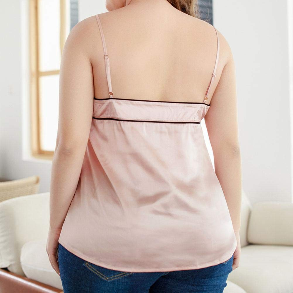 Women Camisole Backless Vest Spagetti Sleeveless Bandeau Bowknot