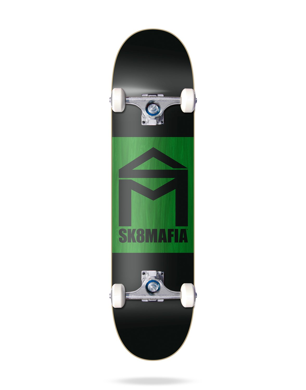 la mejor oferta de tienda online Sk8Mafia House Logo Logo Logo Double Dip 8.0 Skateboard Completos, Unisex Adulto, Negro, Talla única  n ° 1 en línea