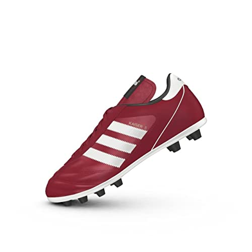 Botines de fútbol Adidas Kaiser 5 Liga, para hombres, color Rojo, talla 10 UK: Amazon.es: Deportes y aire libre