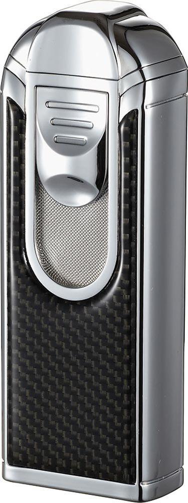 Visol Yozora Carbon Fiber Quad Torch Flame Table Lighter