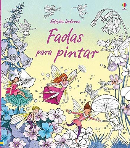 Fadas Para Pintar Em Portuguese Do Brasil Susanna Davidson