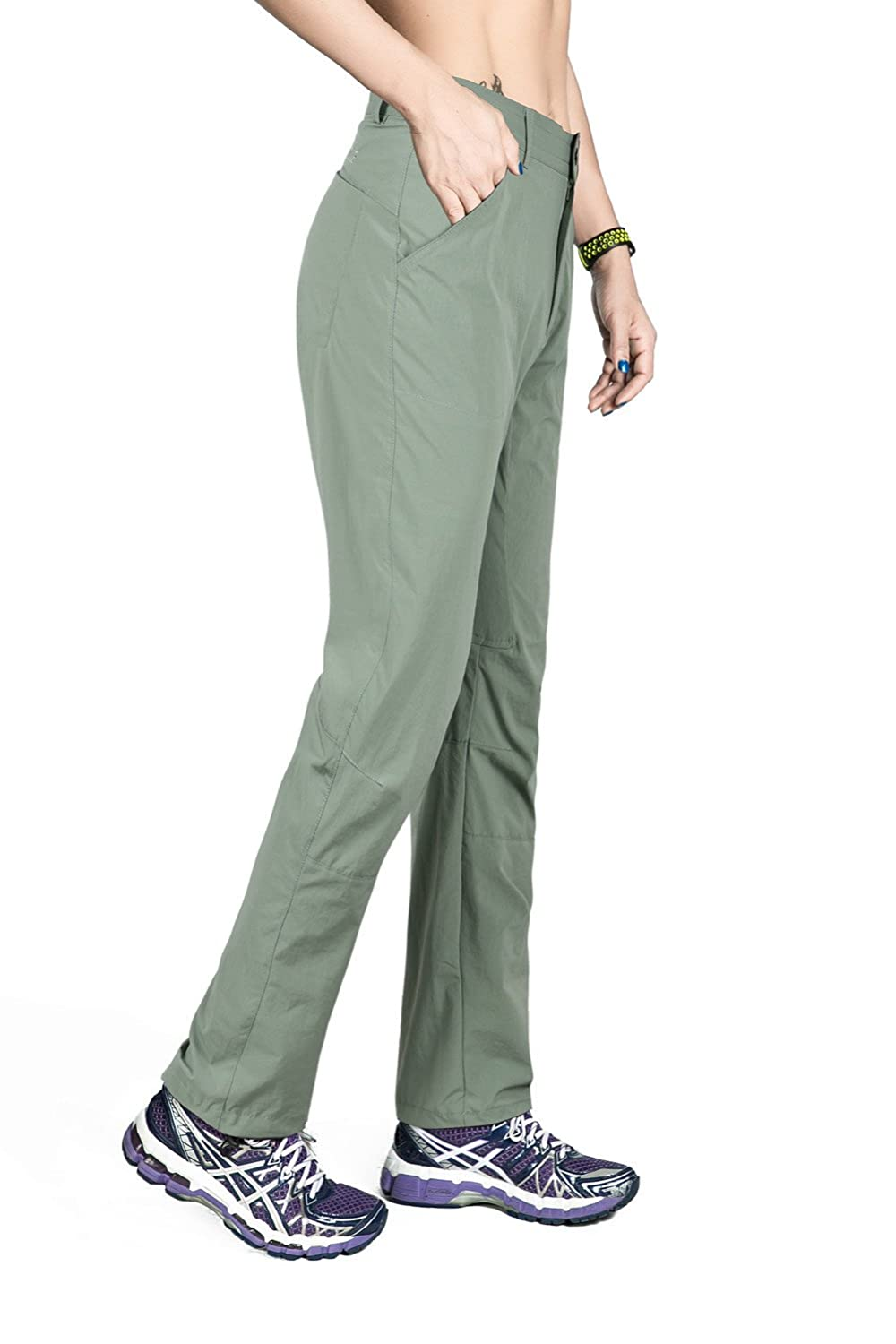 Nonwe Womens Outdoor Quick Dry Lightweight Hiking Cargo Pants