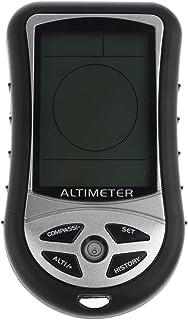 Sharplace Boussole Numérique Écran LCD Altimètre Baromètre Calendrier Thermo Température 8 in 1