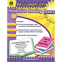 Daily Warm-Ups: Nonfiction Reading Grd 6