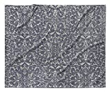KAVKA Designs Cadiz Fleece Blanket, (Grey) - , Size: 80x60x1 - (TELAVC1429VPL)