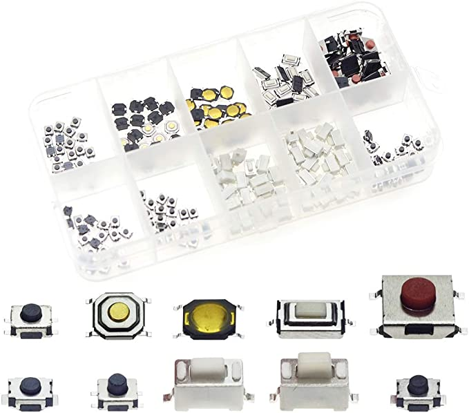 2pcs 8mm Mini Micro 2Pin Metal Waterproof Momentary Push Button Switch ODU QW