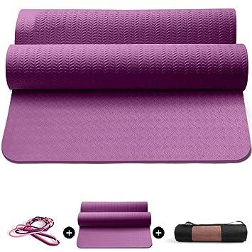 Amazon.com: Eco Yoga Mat, Unbeatable Non Slip Performance ...