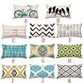 Clearance Square Pillow Cases,Jushye Geometric Lines Sofa Bed Home Decoration Festival Pillow Case Cushion Cover
