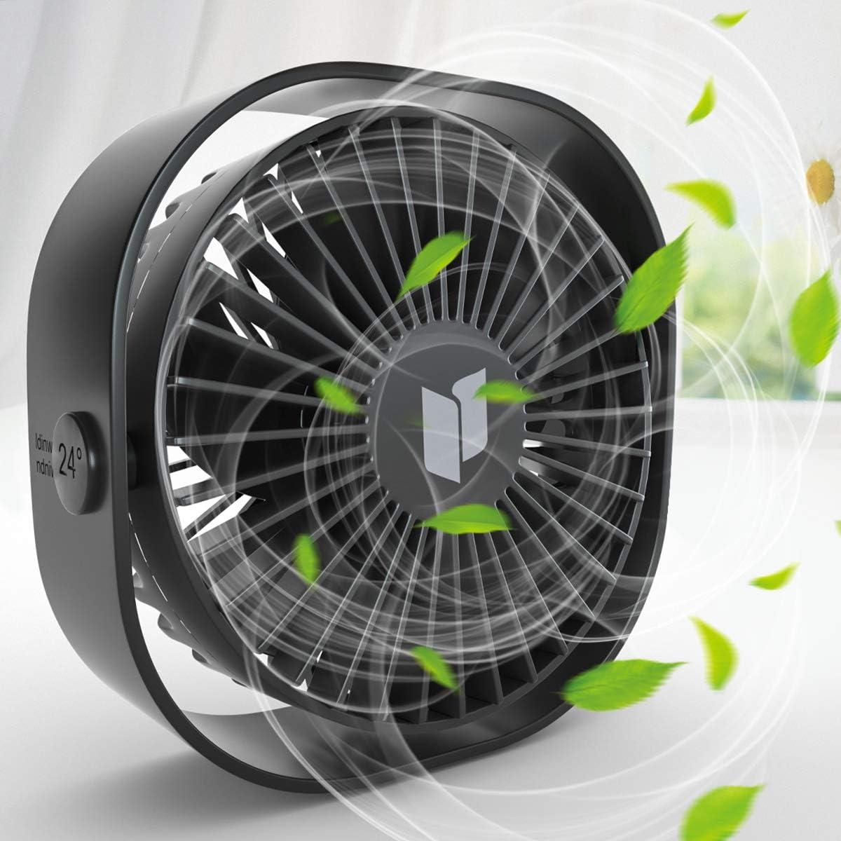 RenFox Ventilador USB Tres velocidades Mini Ventilador USB ...