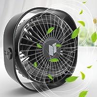 Renfox USB-ventilator, handventilator, kleine pc-ventilator, USB mini-ventilator, 3 snelheden, USB-ventilator…