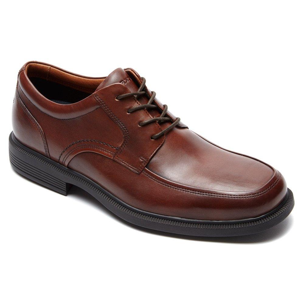 New bspringaa Leather Rockport Rockport Rockport herrar Dpluxe Apron Toe Ox skor  mycket populär