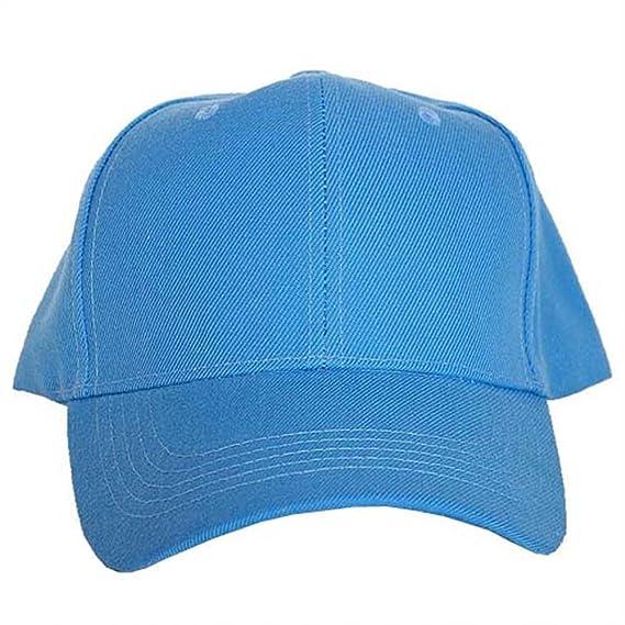 444dad8b05b Amazon.com: Koopa Shop Men's Plain Baseball Cap with Velcro Strap One Size  Fits Most Black: Clothing
