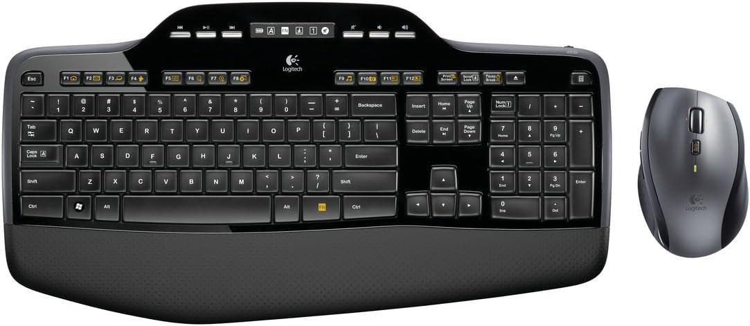 Logitech MK710 Combo Teclado y Ratón Inalámbrico para Windows ...