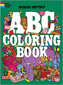 ABC Coloring Book (Dover Coloring Books): Richard Hefter ...