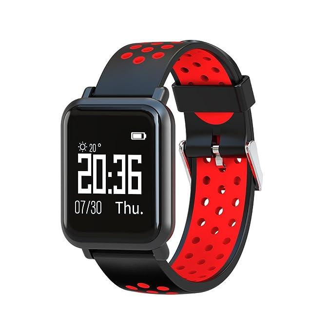 Amazon.com: Star_wuvi SN60 Smart Bracelet Heart Rate Blood ...