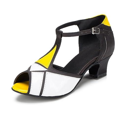 Scarpe Salsa Latin Minitoo Donna Sintetico L199 Da T Dance Strap lKcFJ1