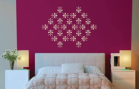 Buy Asian Paints Royale Play Wall Fashion Stardust Stencil