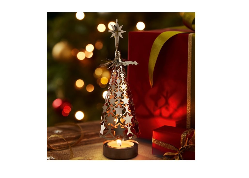 Best Christmas Spinning Tealight Holders