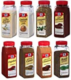 Assorted McCormick Bulk Essential Spices Variety Pack, 8 Count