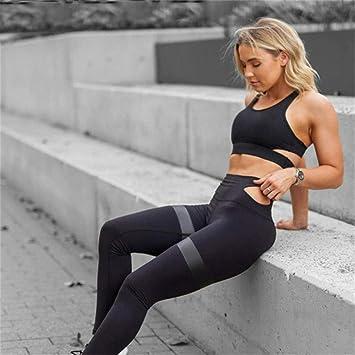 liuhui Conjuntos de Yoga para Mujeres de Moda Traje ...