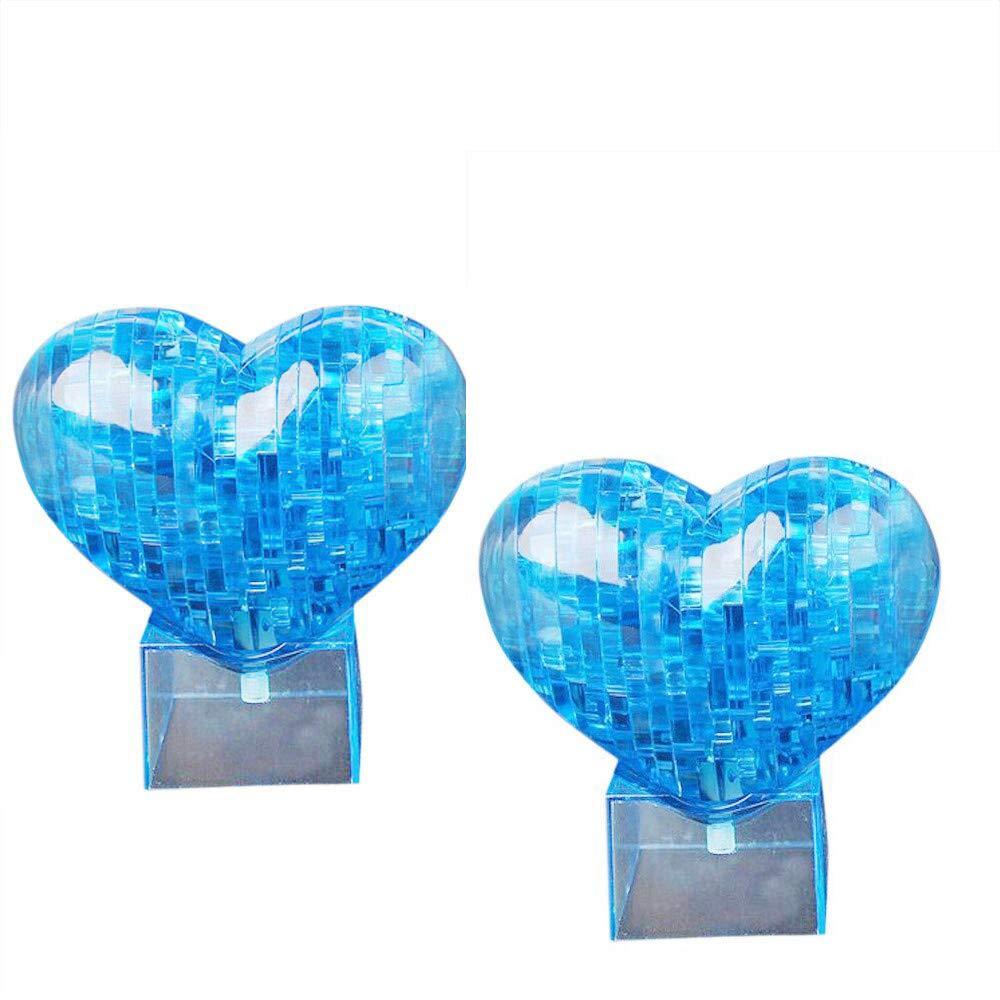 Trigle 3Dクリスタルラブビルディングブロックパズル 子供 DIY 教育玩具 教育玩具 クリエイティブ 小さな家具 ブルー 3Dクリスタルパズル B07NDTG95H かわいいラブモデル DIYガジェットブロックビルディングトイ Free Size ブルー ブルー B07NDTG95H, わんまいる:c7721333 --- m2cweb.com