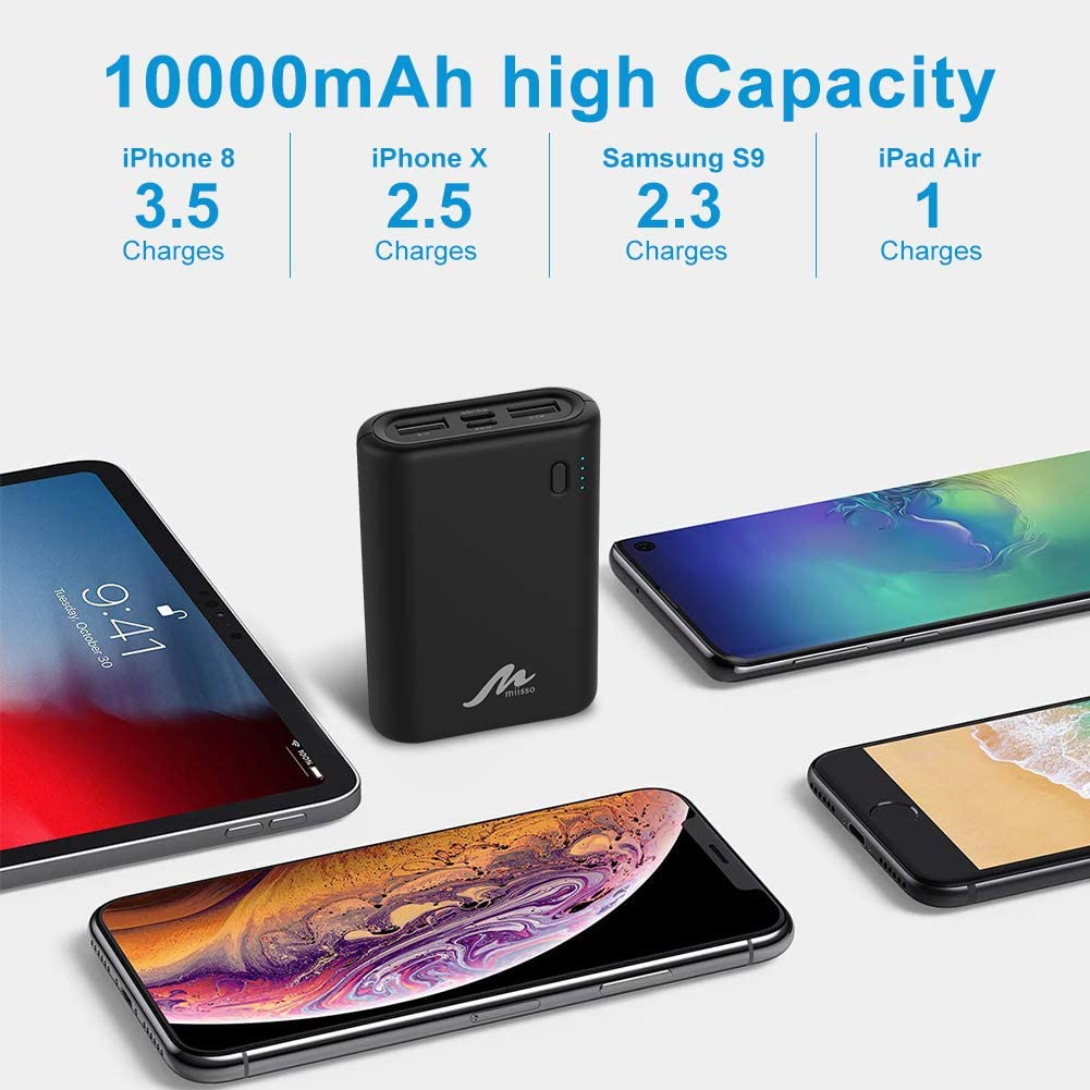Amazon coupon code for External Portable Battery Charger for Cell Phone 10000mAh