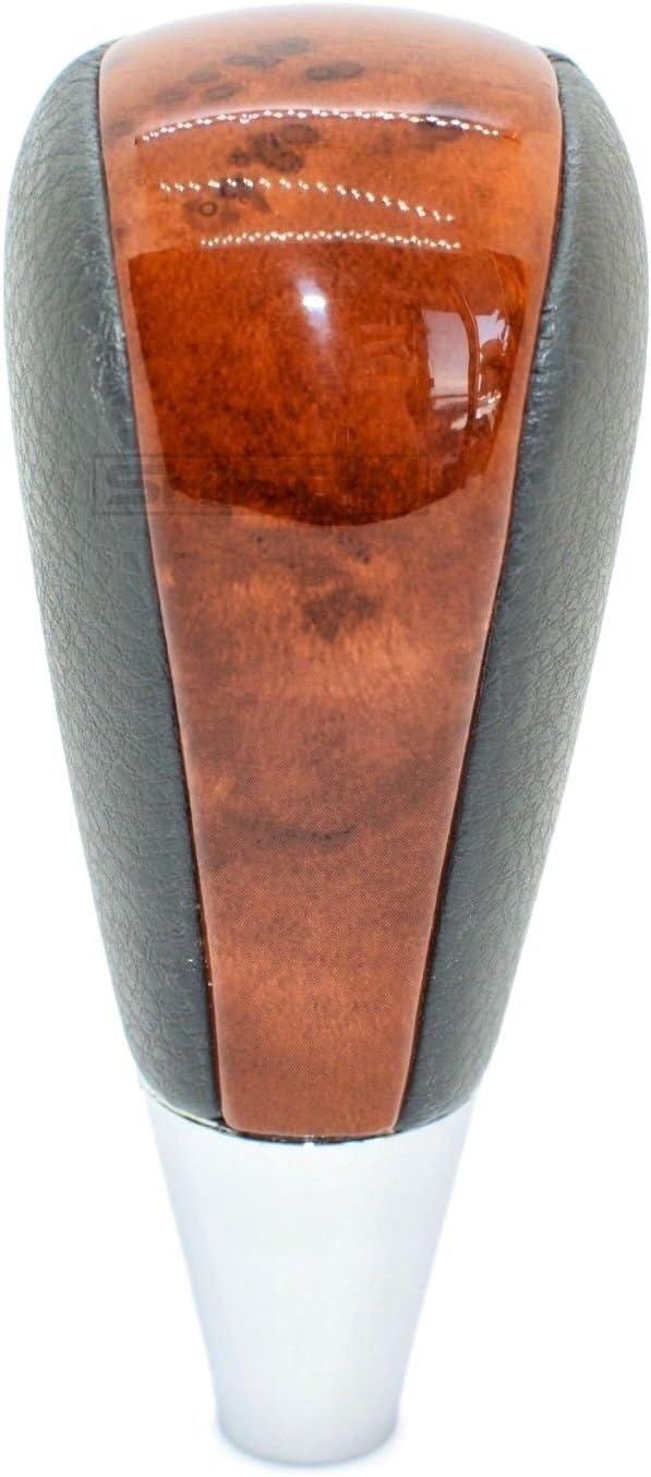 Black Leather//Birds Eye SHIFTIN Leather Wood Gear Shift Knob for Toyota Avalon Yaris 4Runner Land Cruiser Sienna Camry Solara Tacoma and Lexus ES300 ES330 GS300 GS400 GS430 SC300 SC400
