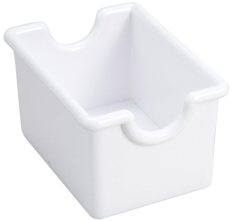 Winco 12-Piece White Sugar Packet Holder Winco USA PPH-1W