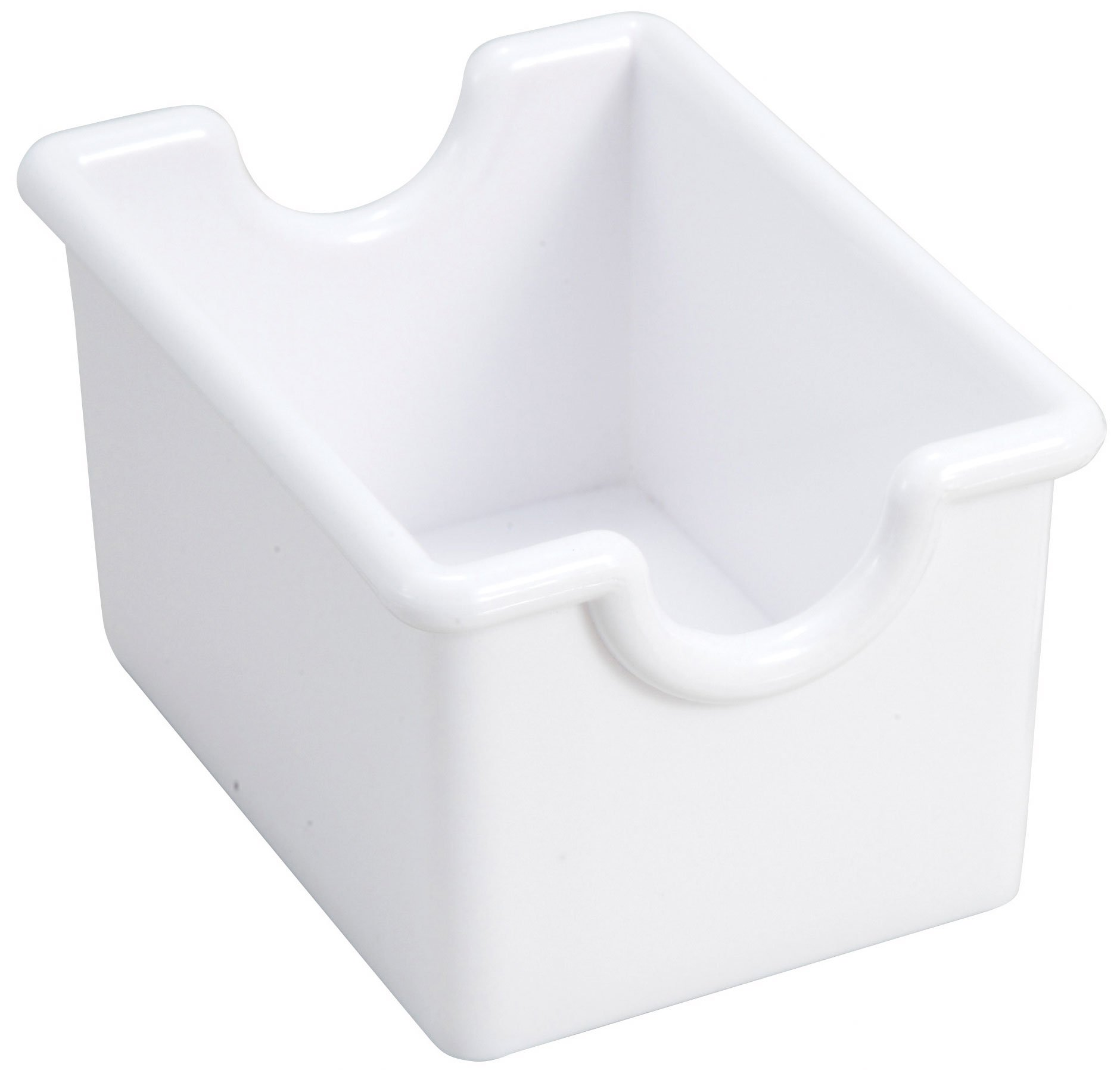 Winco 12-Piece White Sugar Packet Holder