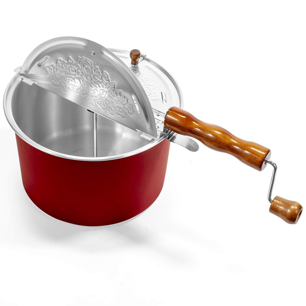 Kitchen & Dining Red Barton Popcorn Maker Stovetop Pop Popcorn ...