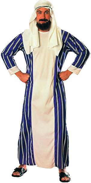 Menu0027s Large Sultan Desert Prince Arabian Sheik Costume With Headpiece  sc 1 st  Amazon.com & Amazon.com: Menu0027s Large Sultan Desert Prince Arabian Sheik Costume ...