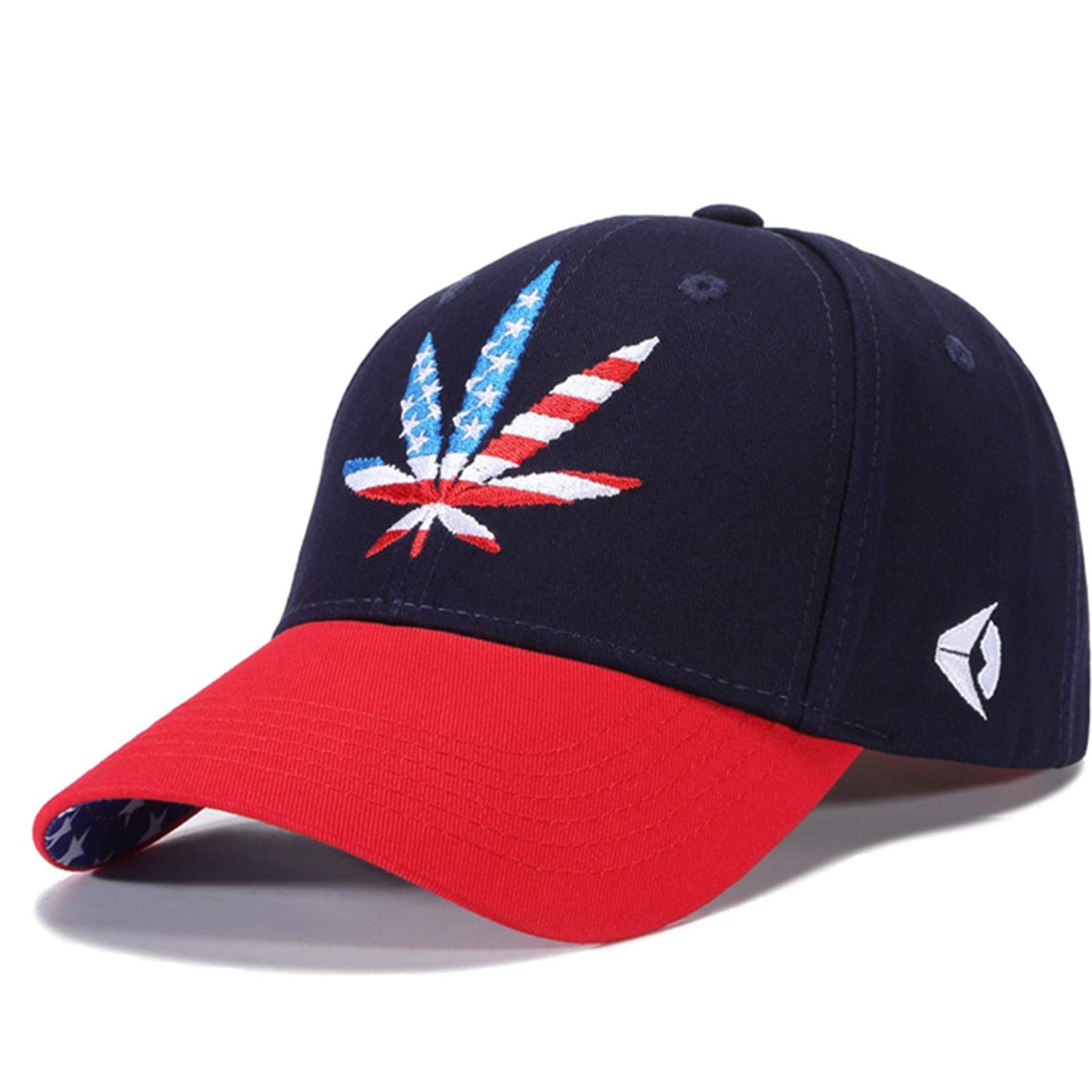 fa92b7663ce WUKE Quality Cotton Floral Embroidery Casual Hats Men Women ...
