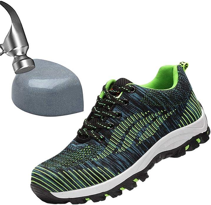 Amazon.com: SITAILE - Zapatos de seguridad para hombre y ...