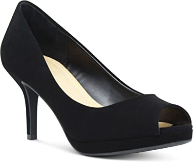 AFFORDABLE FOOTWEAR Women's Peep Toe