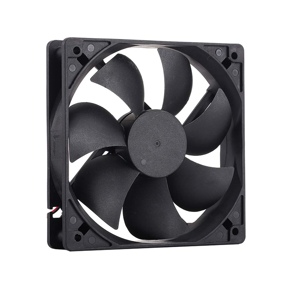 HUNTERFAN HF-T12B 2600RPM 12V 120mm 3.5Wattt High Performance Cooling Fan