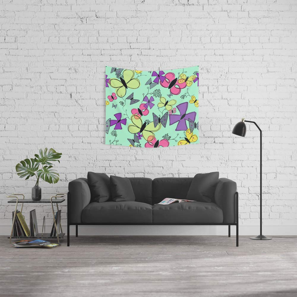 Society6 Wall Tapestry, Size Small: 51'' x 60'', Dance by owlandco