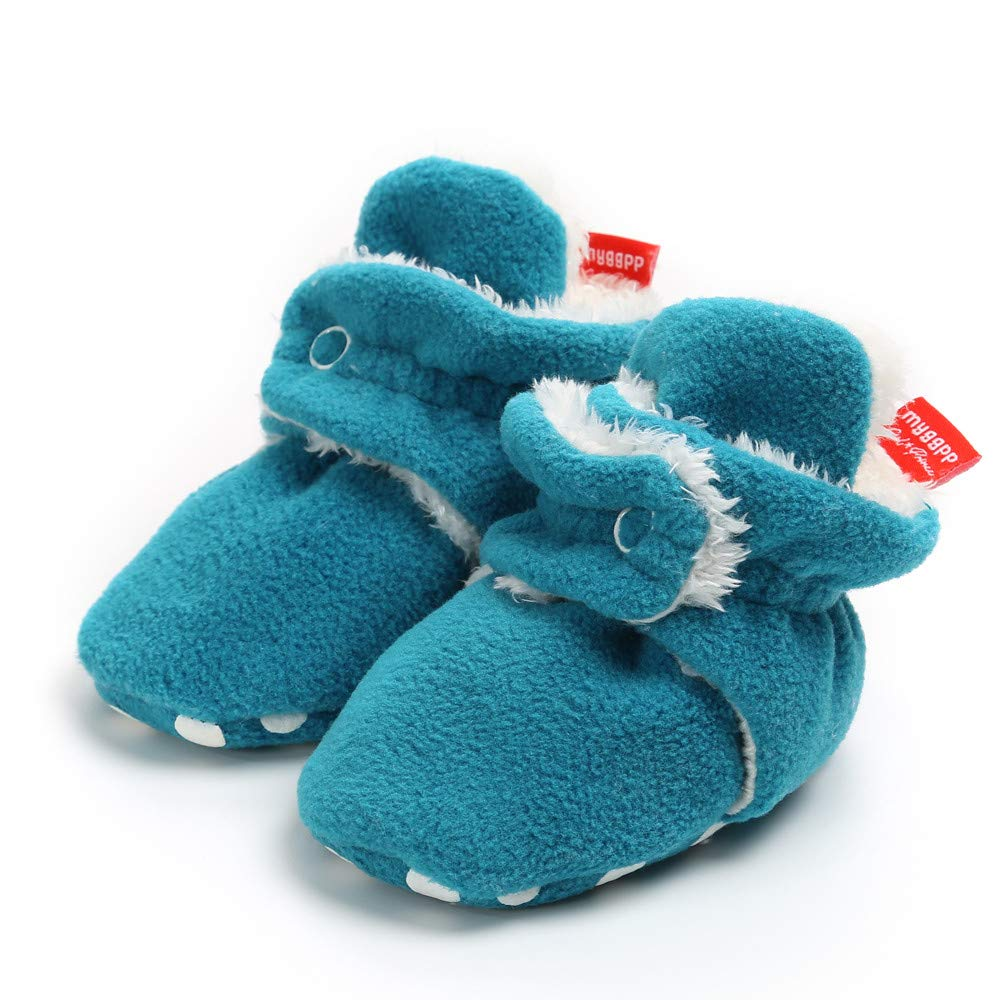 Lurryly❤Baby Girls Warm Booties Cozy Fleece Socks Snow Shoes Cotton Shoe Infant//Toddler