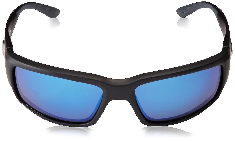7175ead0cf Amazon.com  Costa del Mar Unisex-Adult Fantail TF 11 OBMGLP Polarized  Iridium Rectangular Sunglasses  Shoes