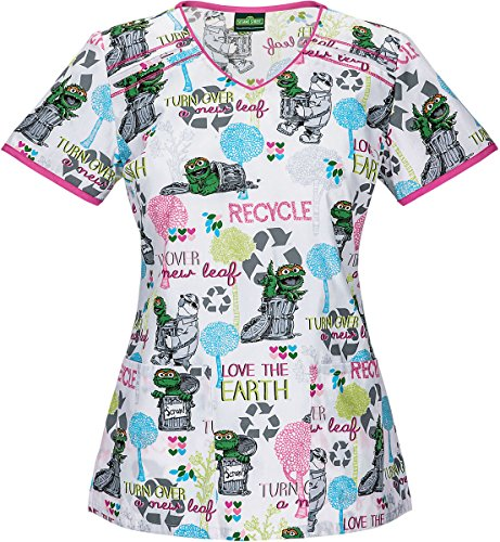 Tooniforms 6782V Women's V-Neck Top Osca - Contrast Cover Stitch V-neck Top Shopping Results