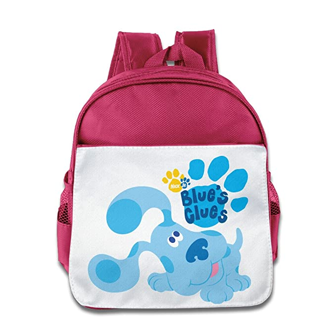 Amazon.com   Quasi Blue s Clues Dog Cartoon Custom Children Kids Girls Boys  Baby School Bags Book Bags Backpack   Kids  Backpacks 83bcf56832