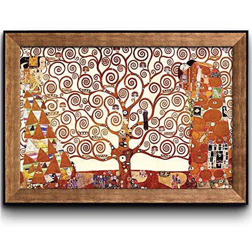 Tree of Life by Gustav Klimt Framed Art