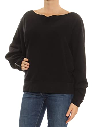 e3920726672 Free People Women's Hide and Seek Sweater Black Small at Amazon Women's  Clothing store: